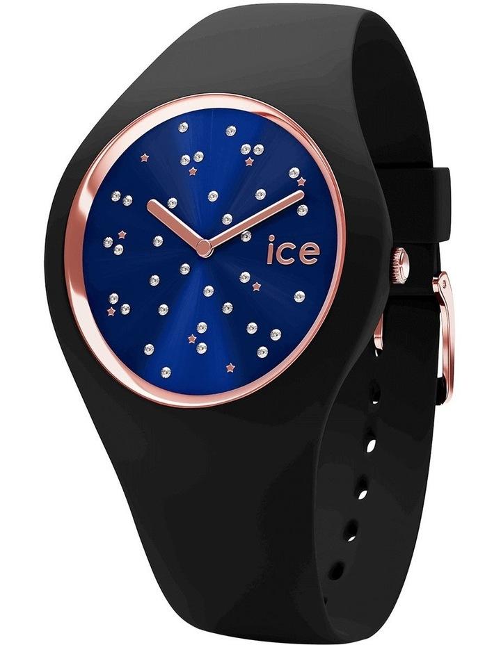 Ice Cosmos Star Small Blue Silicone Quartz Watch image 1