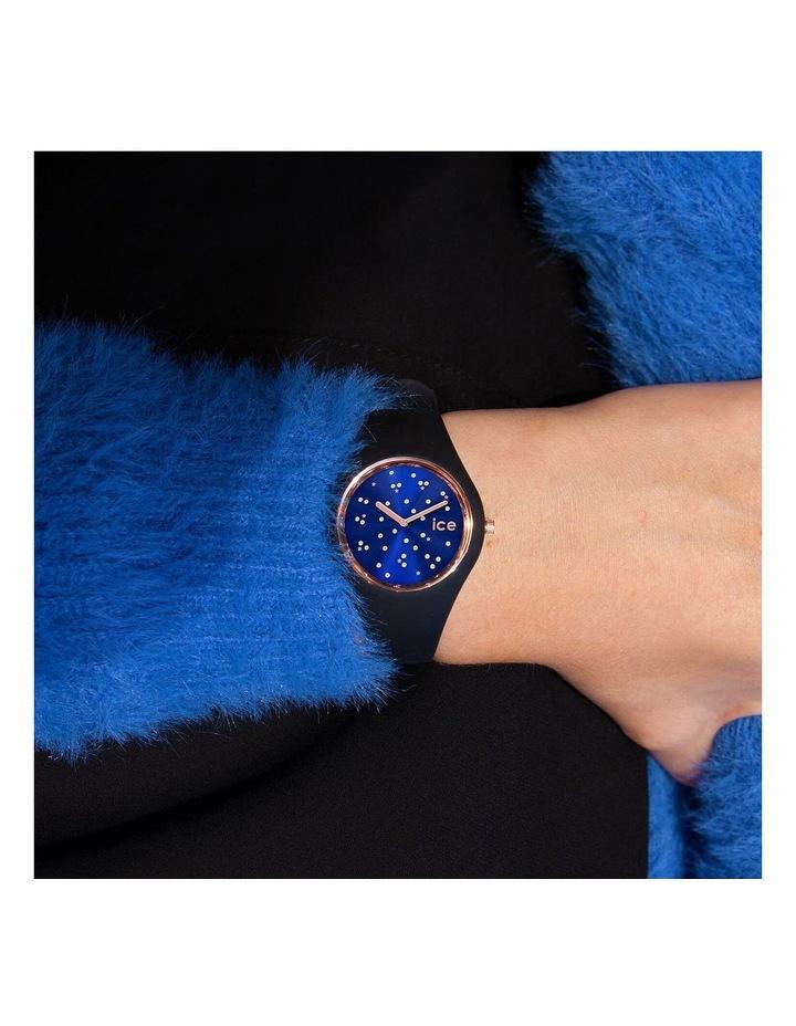Ice Cosmos Star Small Blue Silicone Quartz Watch image 2