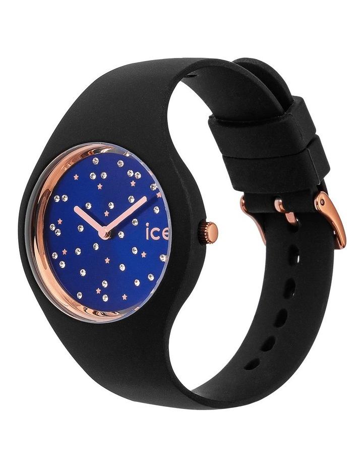 Ice Cosmos Star Small Blue Silicone Quartz Watch image 4
