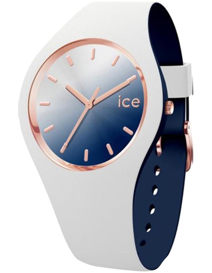Ice Duo Chic White Marine Medium White Silicone Quartz Watch image 1
