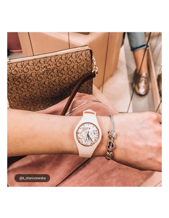 Ice Flower Spring Small Nude Silicone Quartz Watch image 2