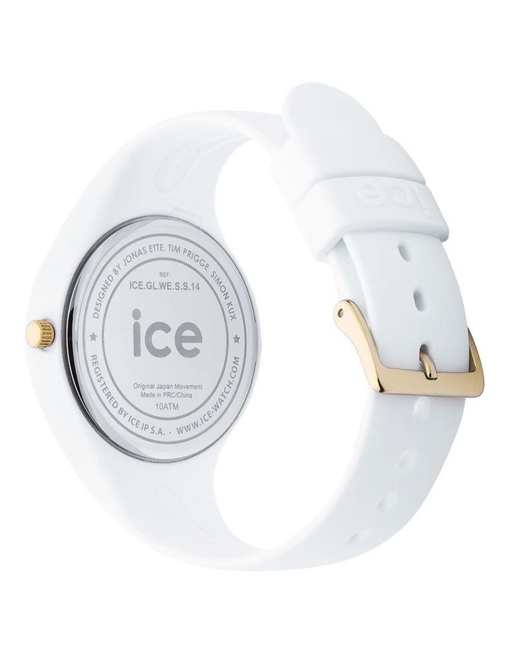 Ice Glam Small White Silicone Quartz Watch image 5