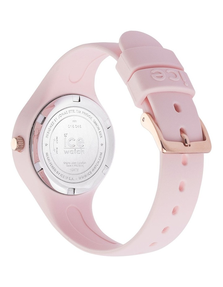 Ice Glam Pastel Lady Numbers Extra Small Pink Silicone Quartz Watch image 5