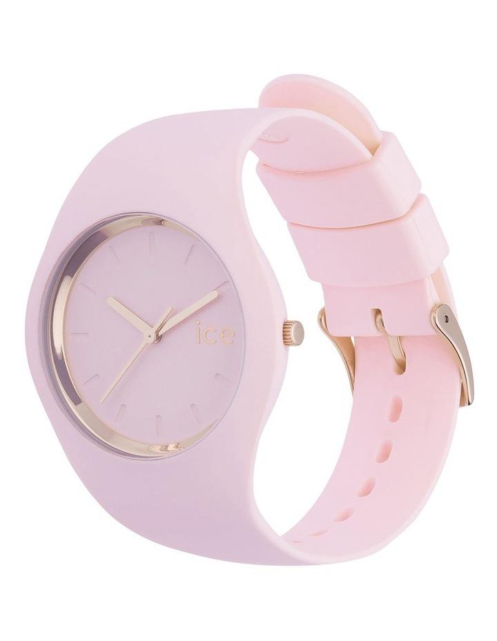 Ice Glam Pastel Lady Unisex Pink Silicone Quartz Watch image 5