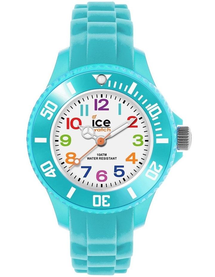 Ice Mini Kids Turquoise Extra Small Blue Silicone Quartz Watch image 1