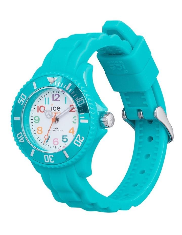 Ice Mini Kids Turquoise Extra Small Blue Silicone Quartz Watch image 2