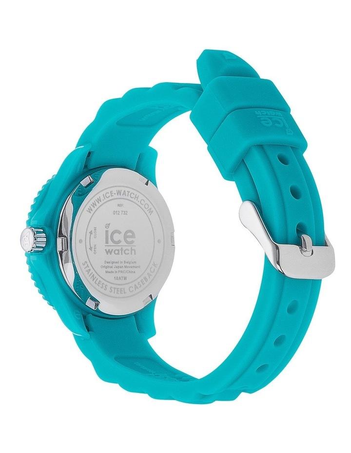 Ice Mini Kids Turquoise Extra Small Blue Silicone Quartz Watch image 4