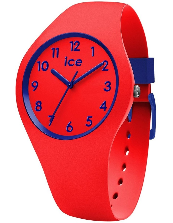 Ice Ola Kids Circus Small Red Silicone Quartz Watch image 1