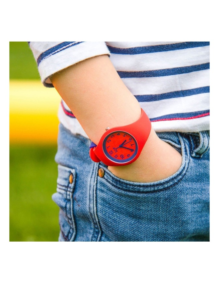 Ice Ola Kids Circus Small Red Silicone Quartz Watch image 2
