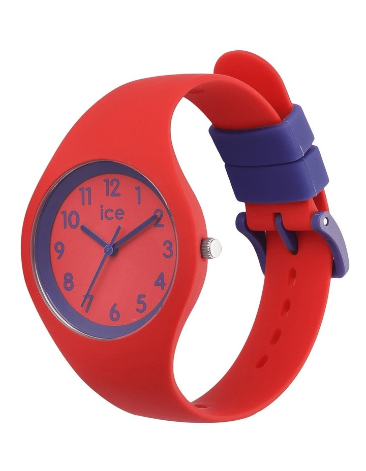 Ice Ola Kids Circus Small Red Silicone Quartz Watch image 3
