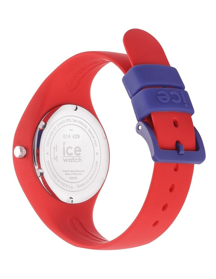 Ice Ola Kids Circus Small Red Silicone Quartz Watch image 5