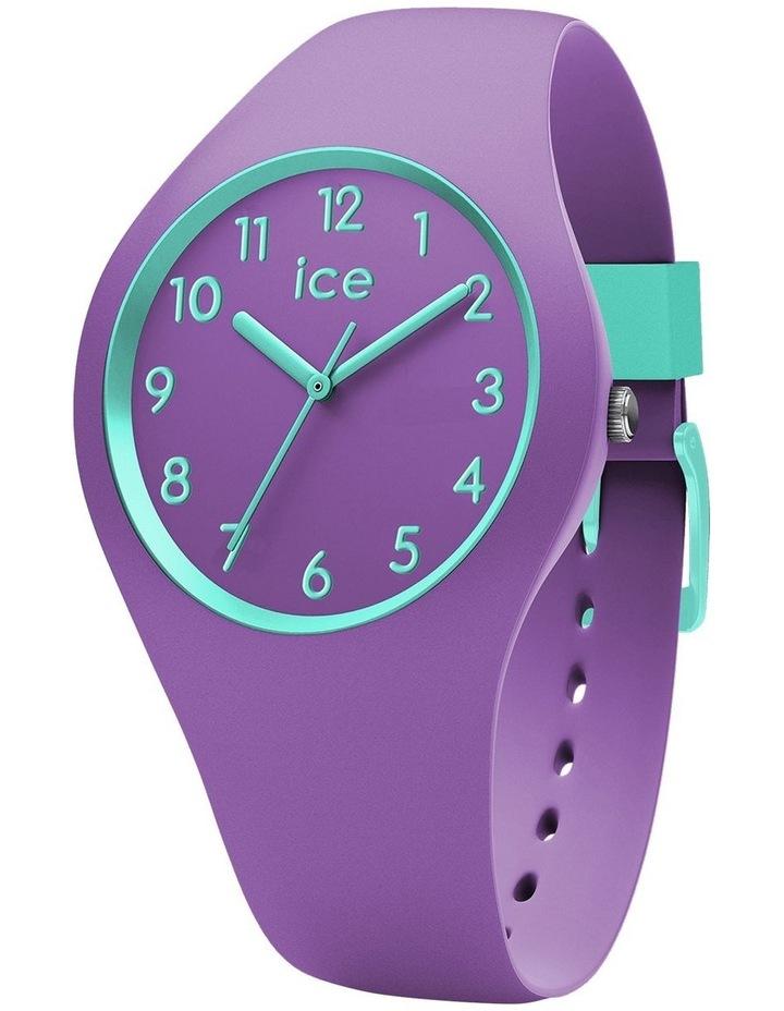 Ice Ola Kids Mermaid Small Purple Silicone Quartz Watch image 1