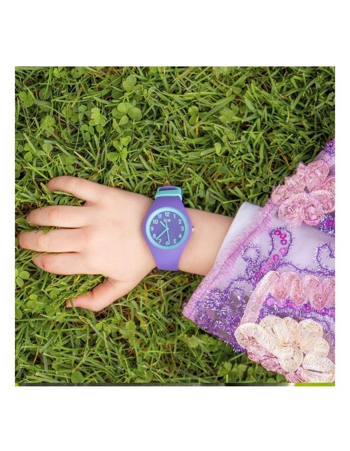 Ice Ola Kids Mermaid Small Purple Silicone Quartz Watch image 2