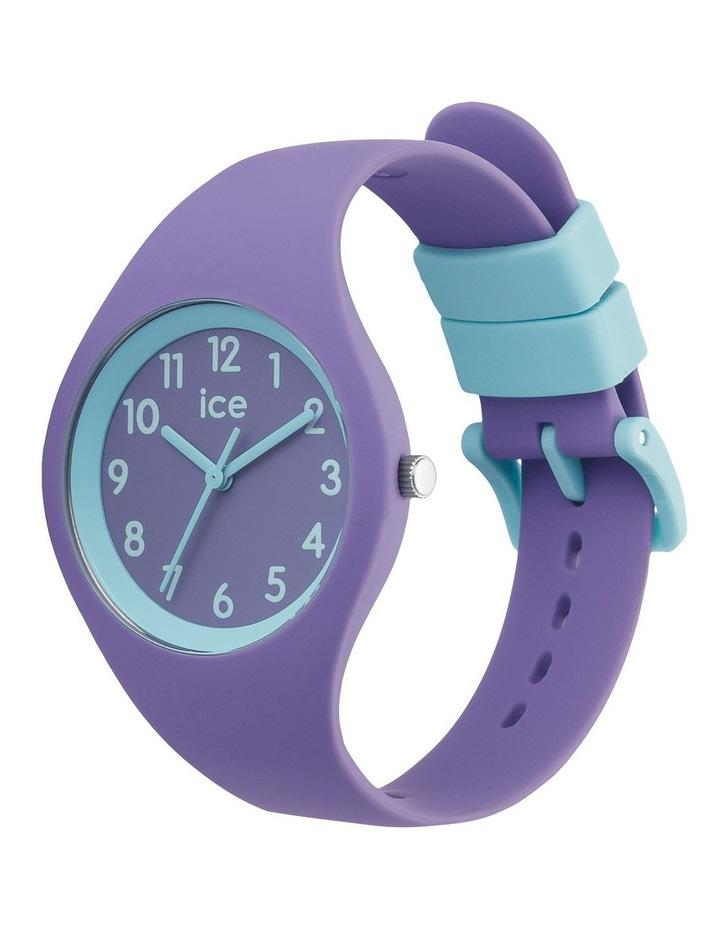 Ice Ola Kids Mermaid Small Purple Silicone Quartz Watch image 3