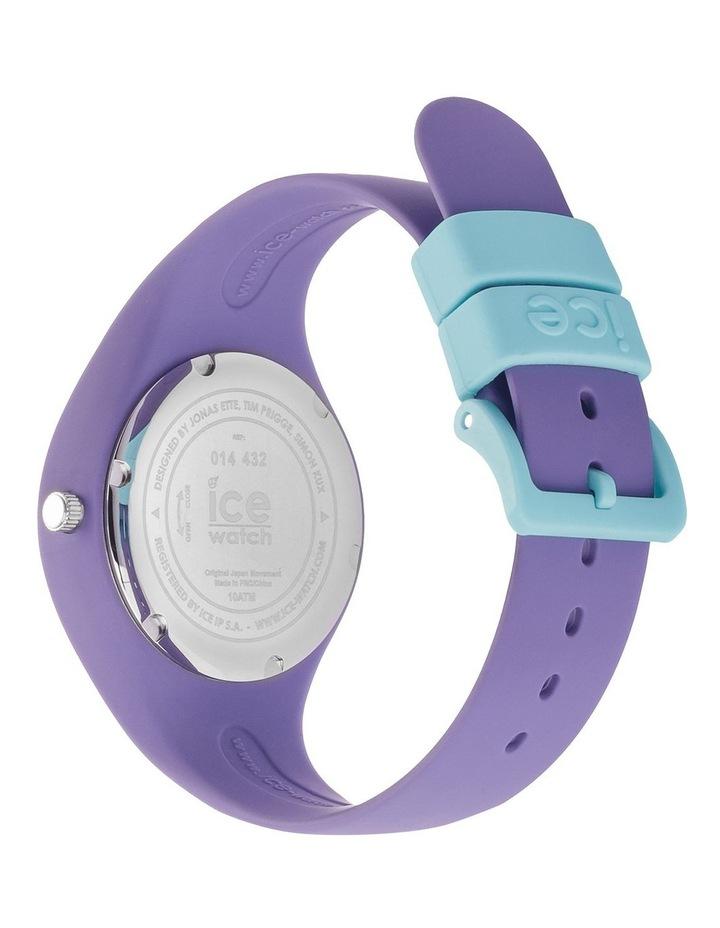 Ice Ola Kids Mermaid Small Purple Silicone Quartz Watch image 5
