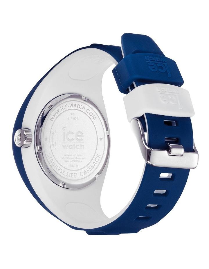 Ice P. Leclercq Medium Blue Silicone Chronograph Watch image 4