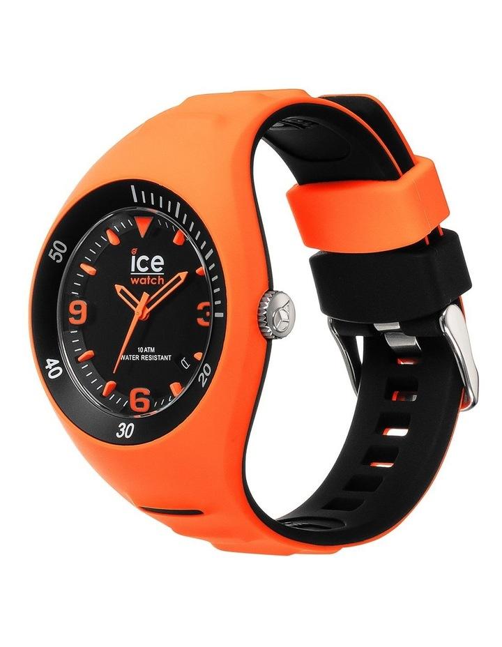 Ice P. Leclercq Medium Orange Silicone Chronograph Watch image 2