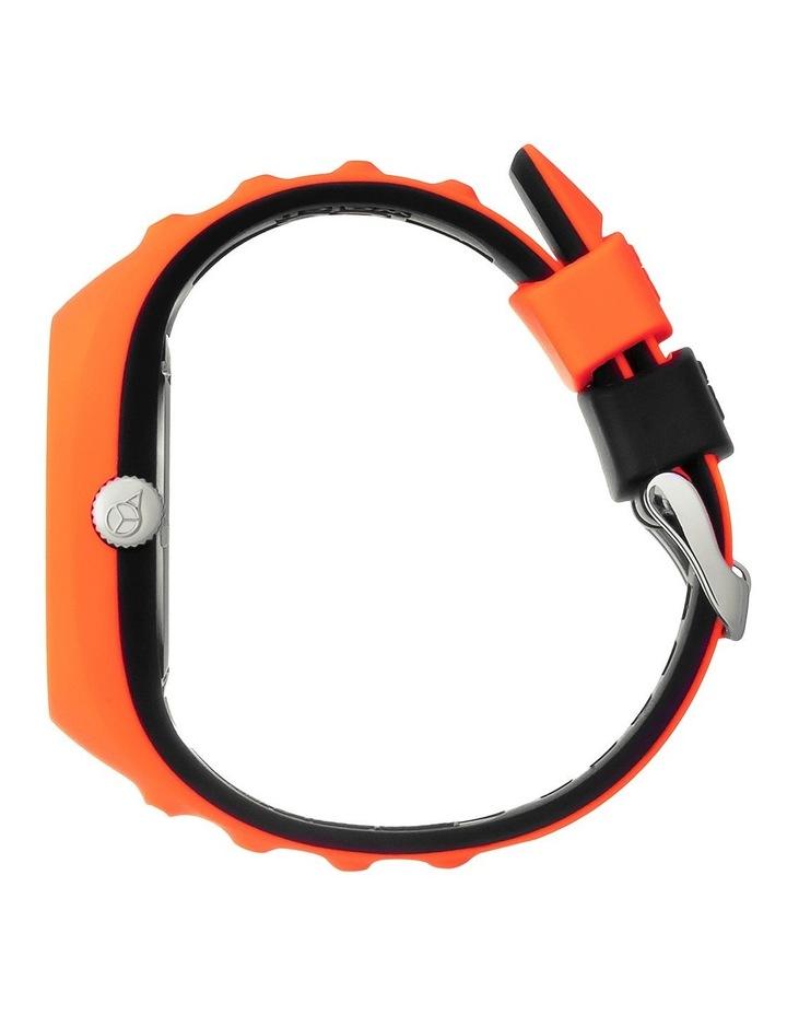 Ice P. Leclercq Medium Orange Silicone Chronograph Watch image 3