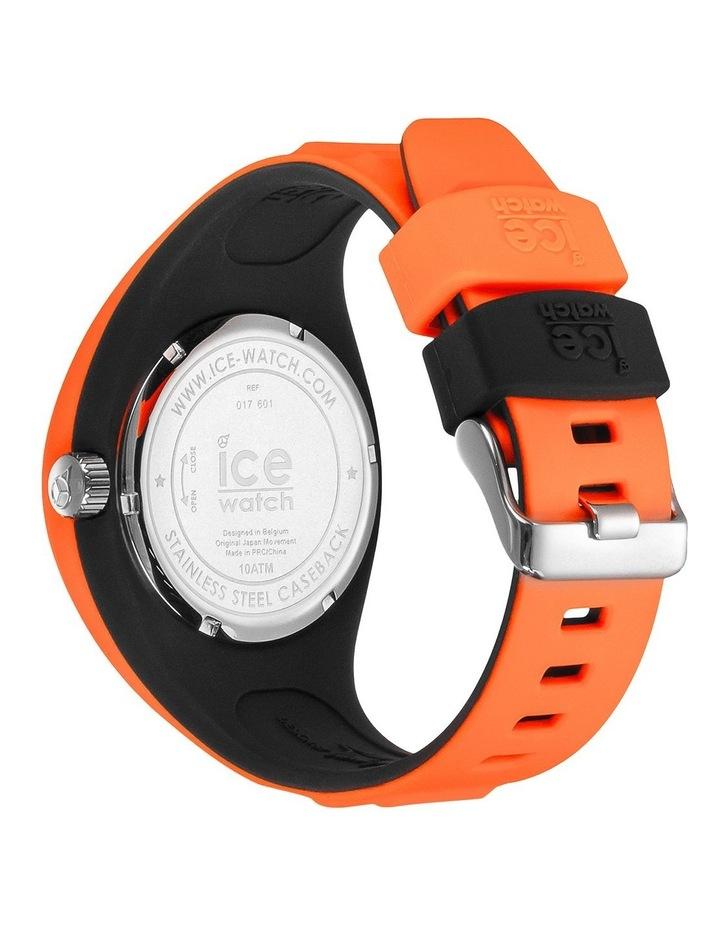 Ice P. Leclercq Medium Orange Silicone Chronograph Watch image 4