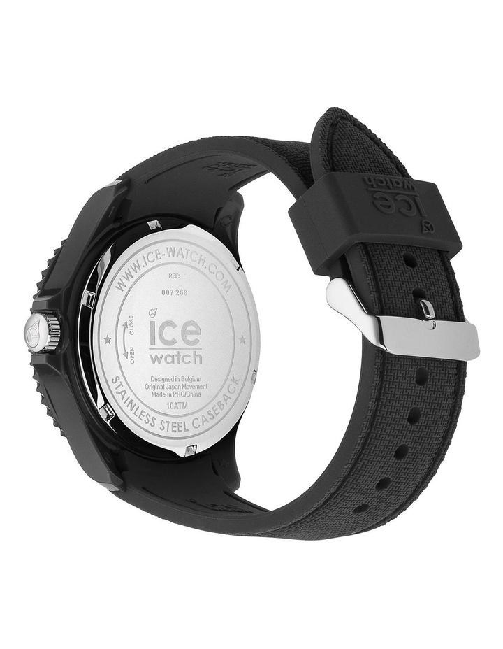 Ice Sixty Nine Anthracite Large Black Silicone Quartz Watch image 4