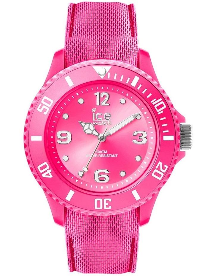 Ice Sixty Nine Small Pink Silicone Quartz Watch image 1