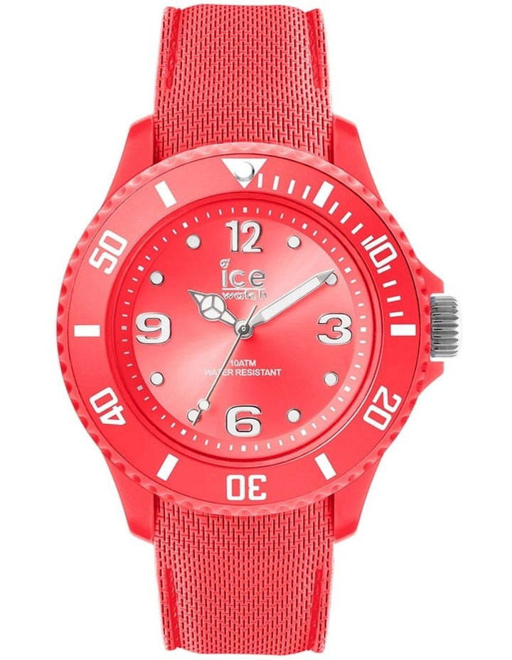 Ice Sixty Nine Coral Small Blue Silicone Quartz Watch image 1