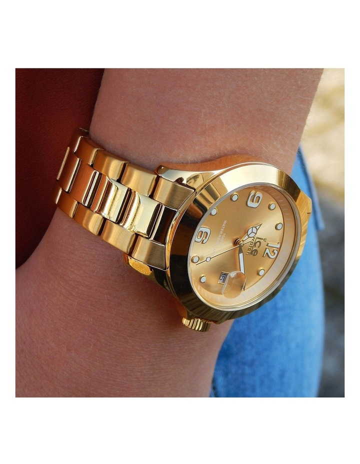 Ice Steel ICE Steel Classic Medium Gold Silicone Quartz Watch image 2