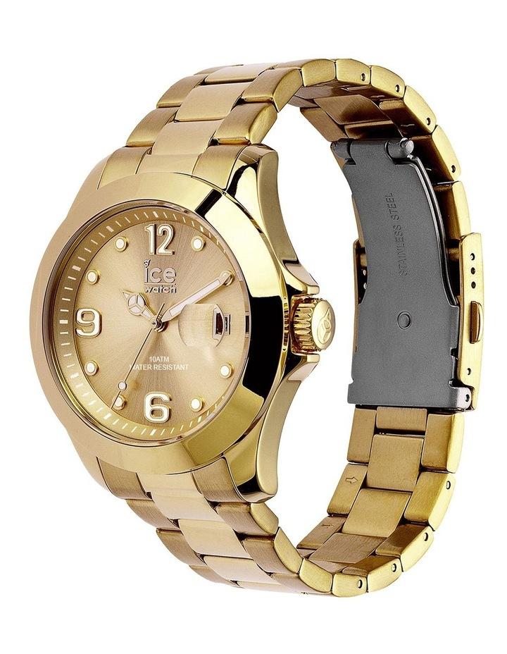 Ice Steel ICE Steel Classic Medium Gold Silicone Quartz Watch image 3