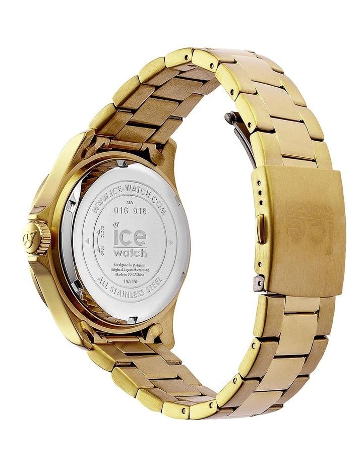 Ice Steel ICE Steel Classic Medium Gold Silicone Quartz Watch image 5