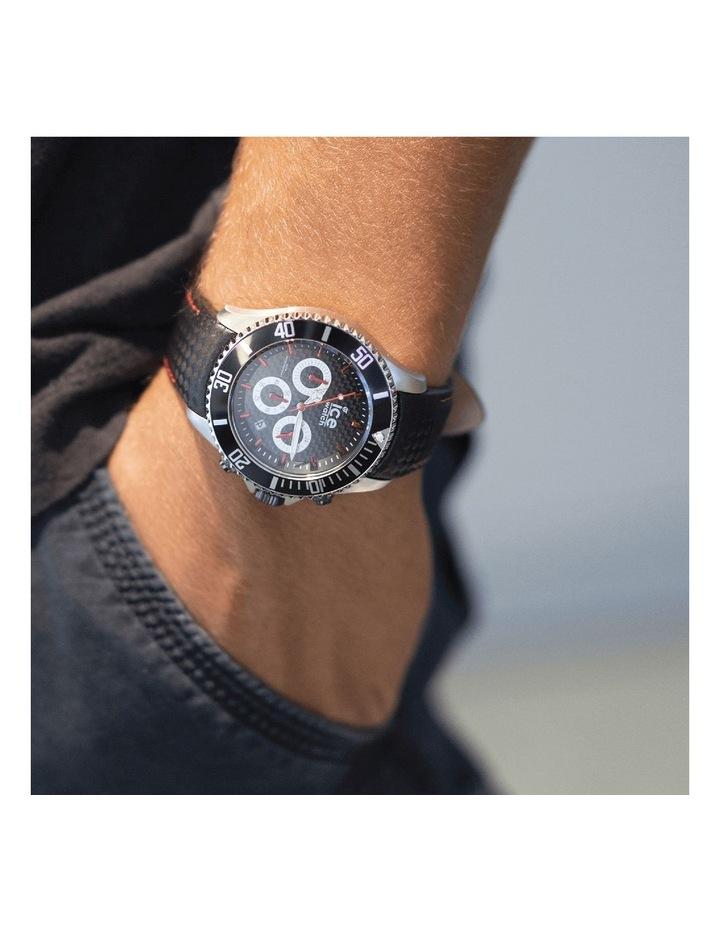 Ice Steel Racing Large Black Silicone Quartz Watch image 2