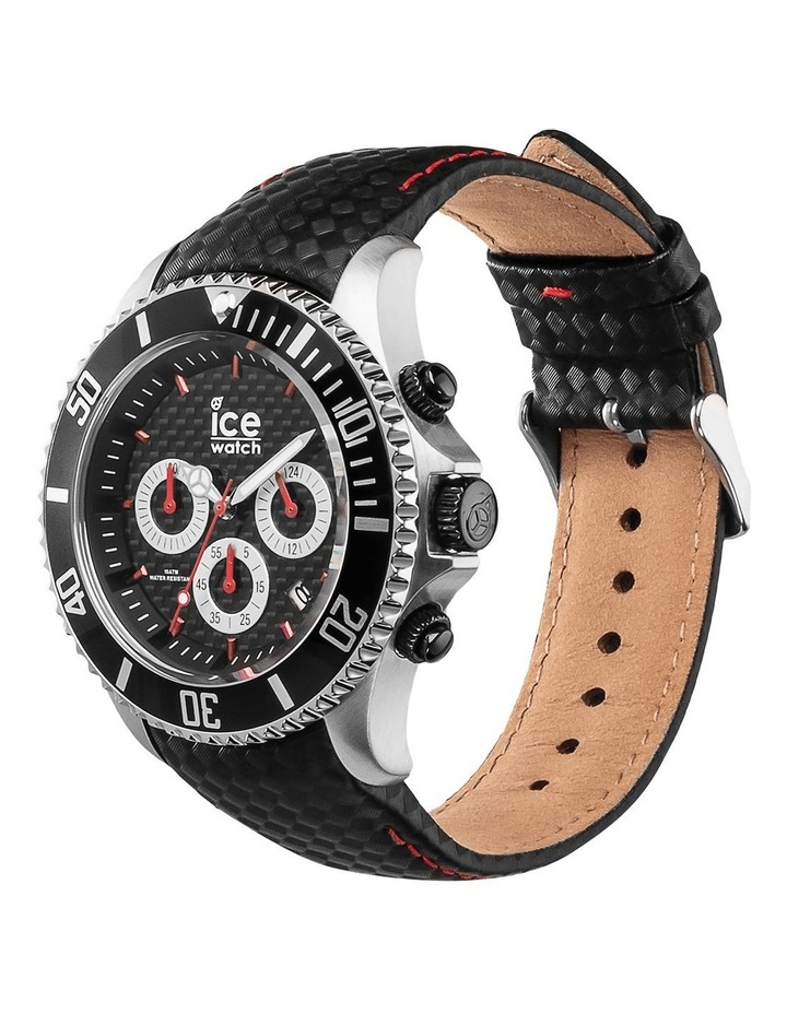 Ice Steel Racing Large Black Silicone Quartz Watch image 3