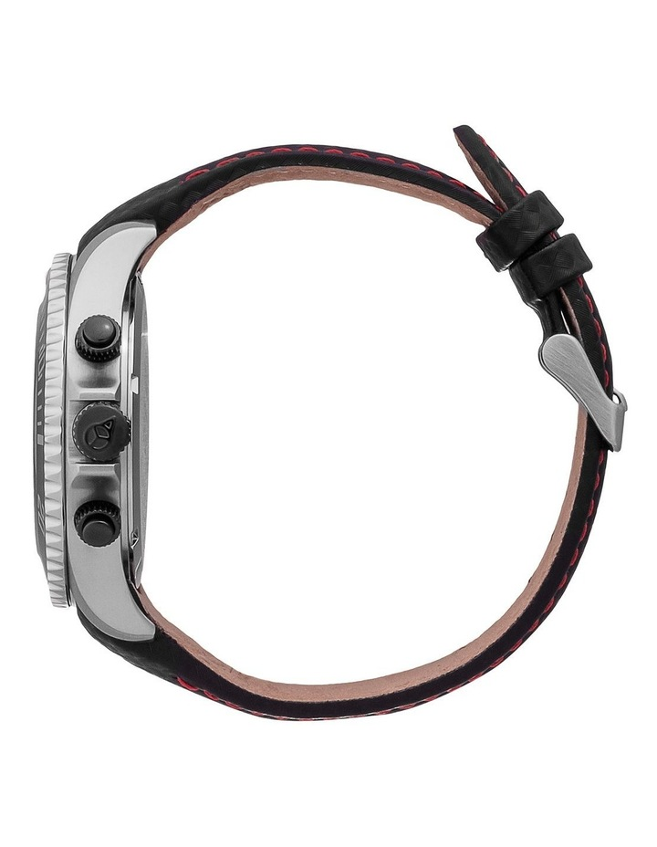 Ice Steel Racing Large Black Silicone Quartz Watch image 4
