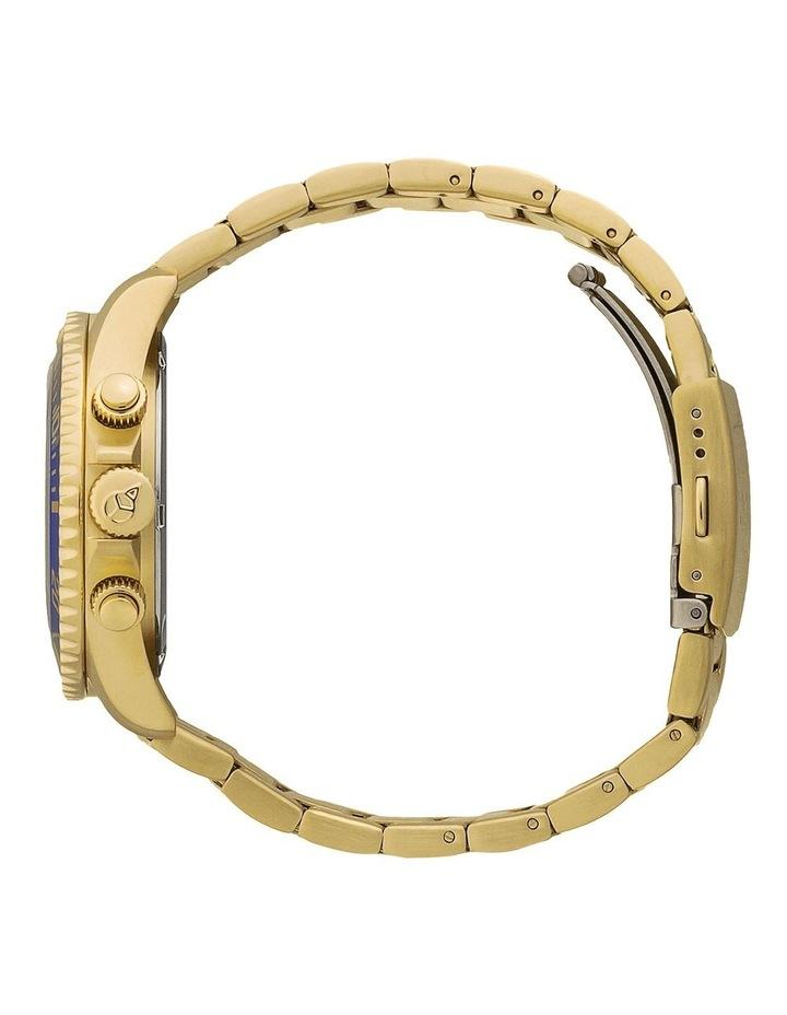 Ice Steel Blue Medium Gold Silicone Quartz Watch image 4