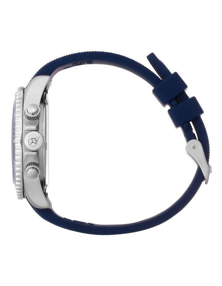 Ice Steel Marine Medium Blue Silicone Quartz Watch image 4
