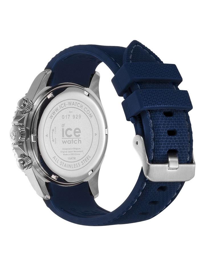 Ice Steel Marine Medium Blue Silicone Quartz Watch image 5