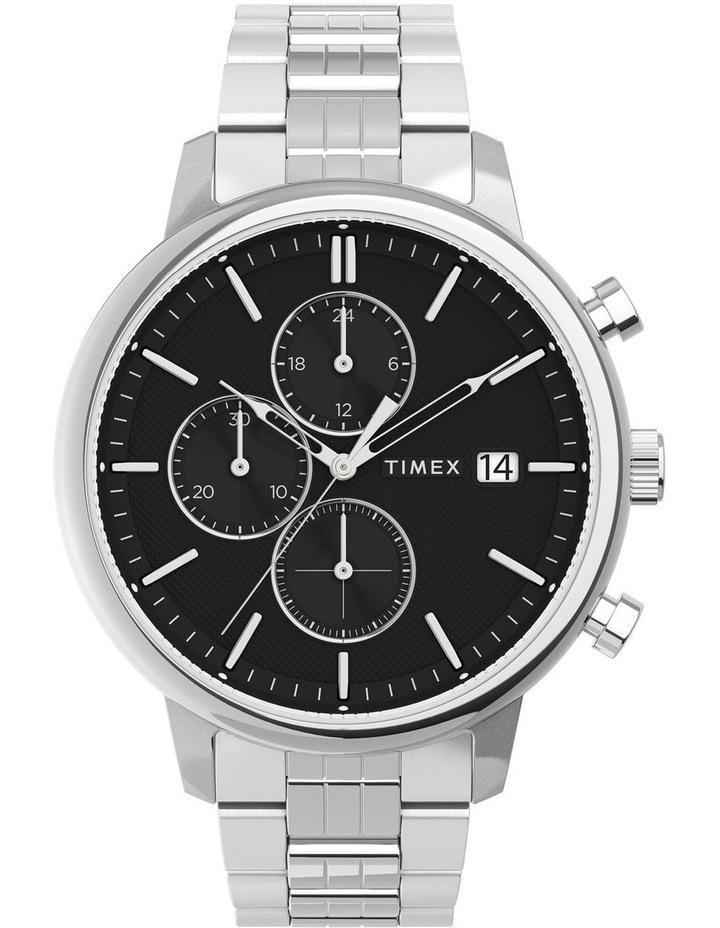Chicago Chrono Silver Tone Watch image 1