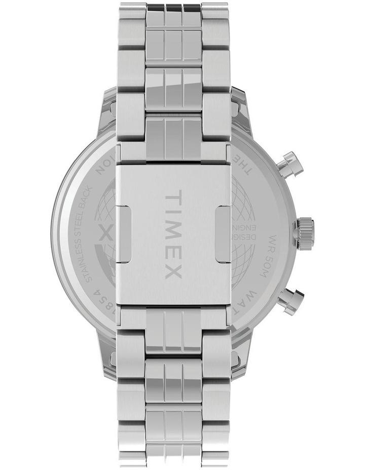 Chicago Chrono Silver Tone Watch image 3