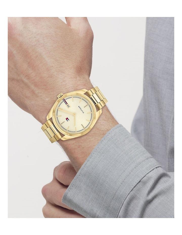 Gold Steel Men's Watch image 4