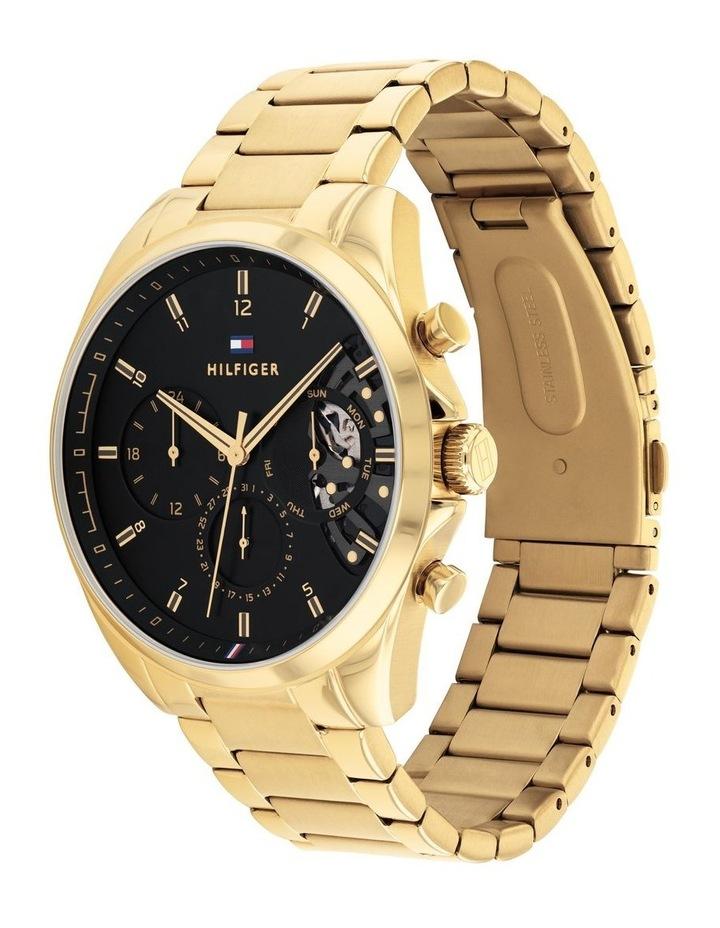 Gold Steel Men's Multi Function Watch image 2