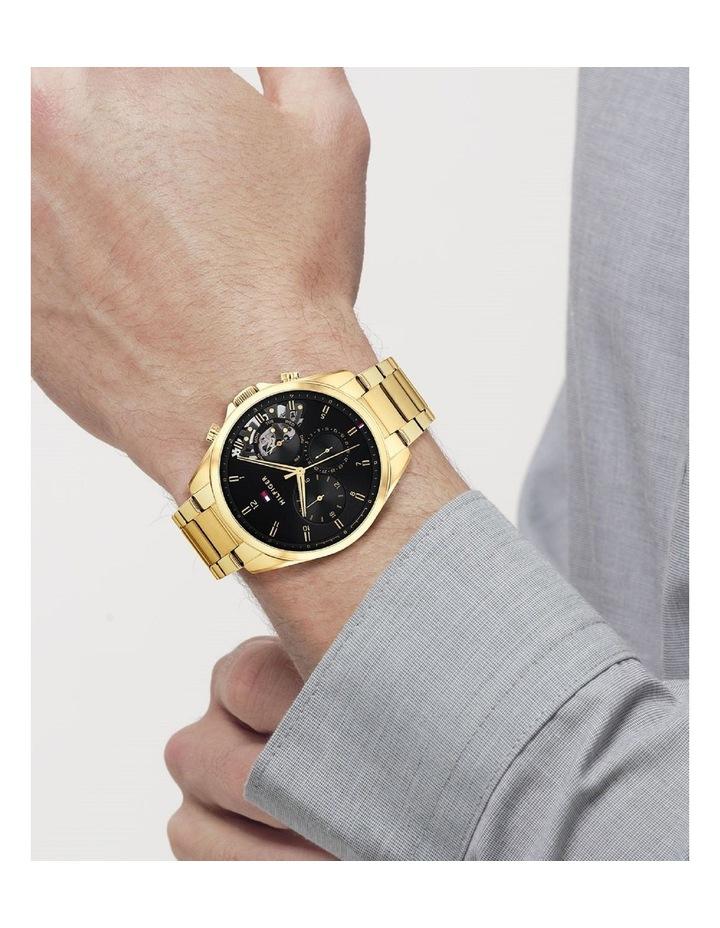 Gold Steel Men's Multi Function Watch image 4