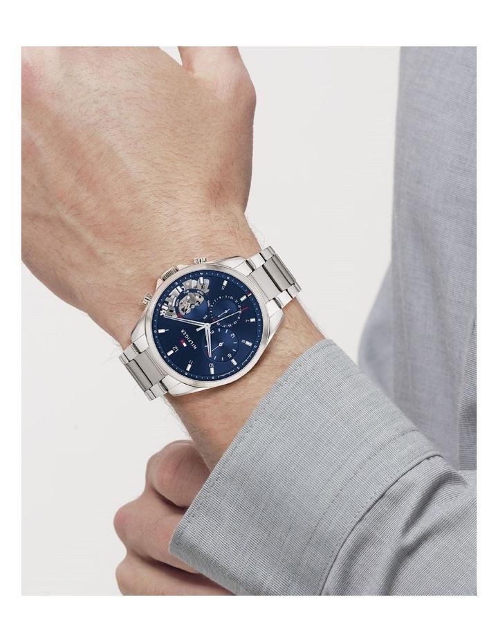 Silver Steel Men's Multi Function Watch image 4