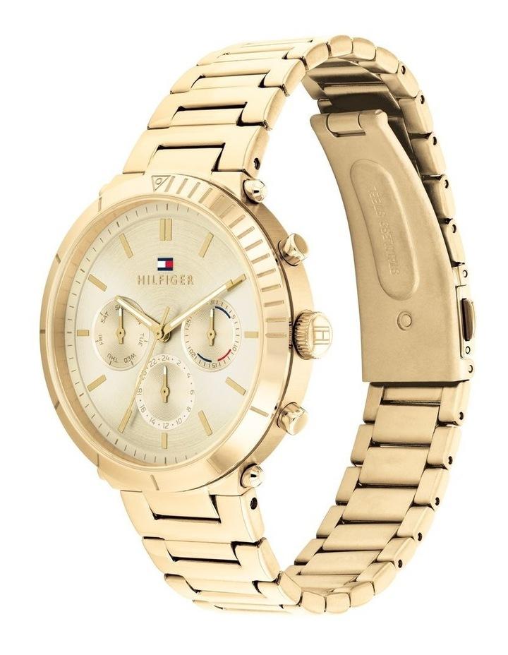 Gold Steel Women's Multi Function Watch image 2