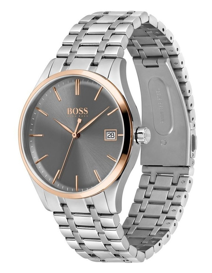 Commissioner Stainless Steel Men's Watch image 2