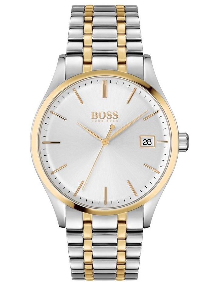 Commissioner Two-Tone Stainless Steel Men's Watch image 1