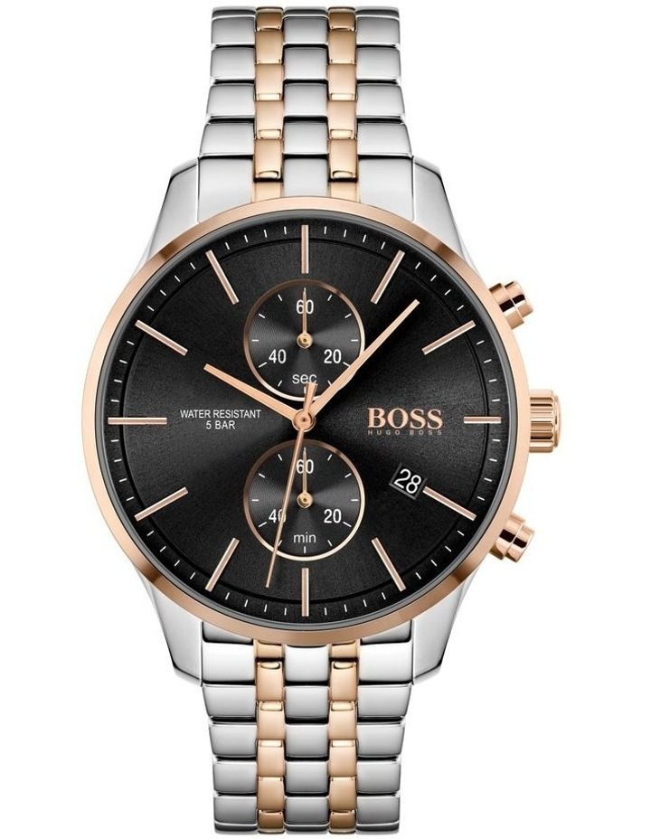 Associate Two-Tone Stainless Steel Men's Chrono Watch image 1