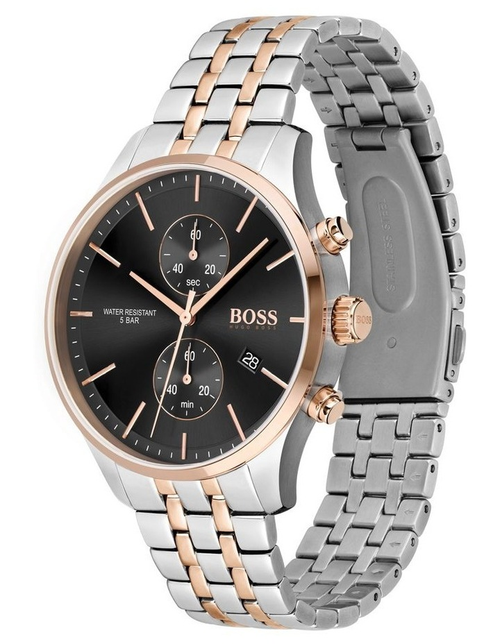 Associate Two-Tone Stainless Steel Men's Chrono Watch image 2