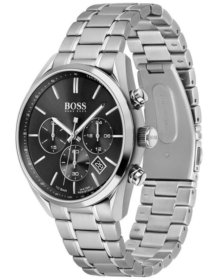 Champion Stainless Steel Men's Chrono Watch image 2