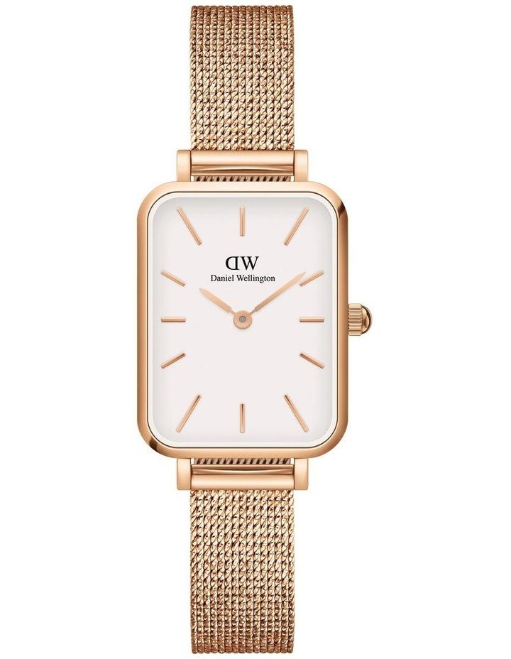 Quadro Pressed Melrose RG White Watch image 1
