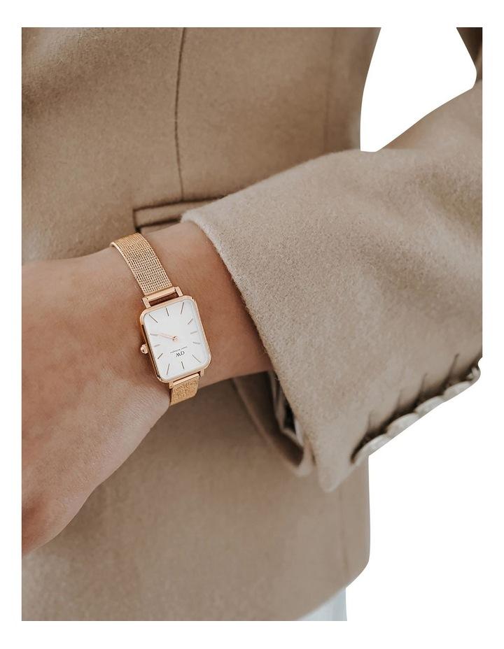 Quadro Pressed Melrose RG White Watch image 2