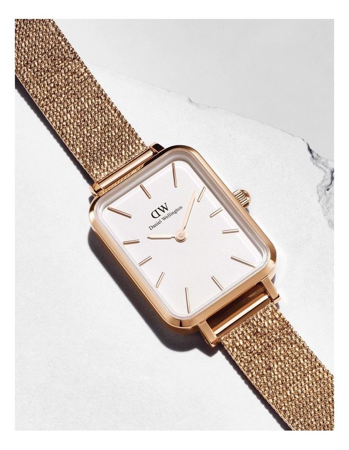 Quadro Pressed Melrose RG White Watch image 5